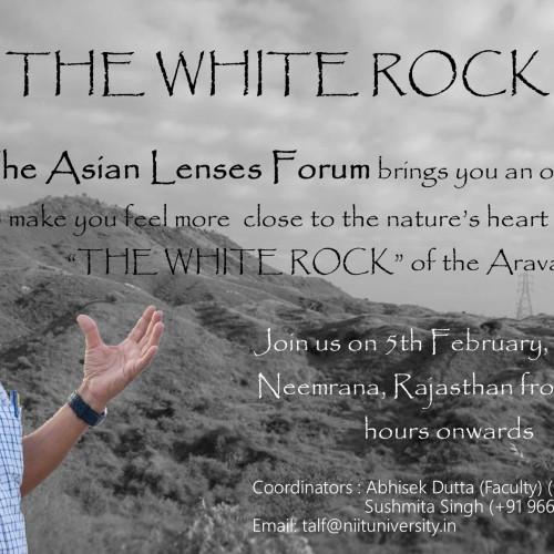 Visit to White Rock in Aravali's
