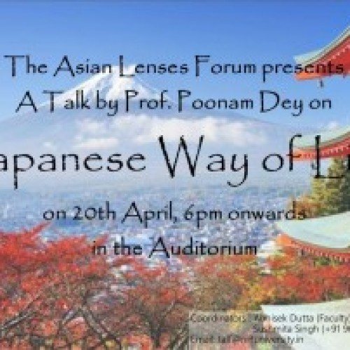"""A Talk on """"Japanese Way of Life"""""""