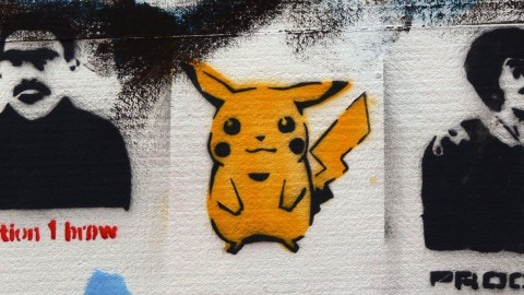 For Lovers of Graffiti, Pokémon Go is Old Hat